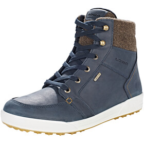 Lowa Molveno GTX Mid Cold Weather Boots Men navy/brown